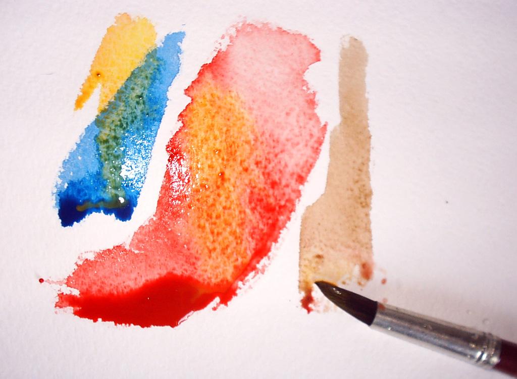Как сделать краски акварель